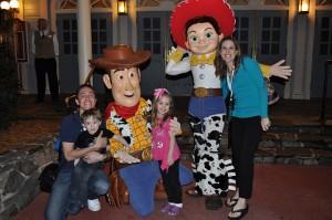Disneyed Woody Family