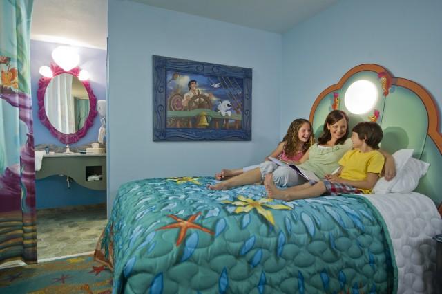Disney Art Of Animation Little Mermaid Rooms