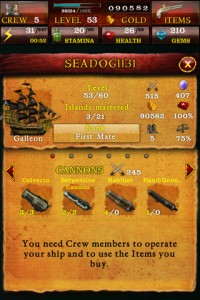 Pirates of the Caribbean App Screen 4