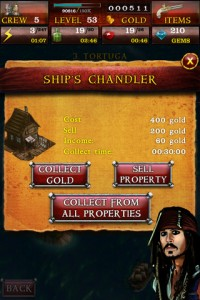 Pirates of the Caribbean App Screen 5