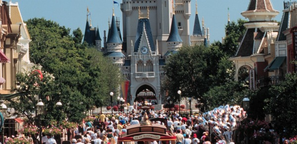 Disney World Peak Crowds