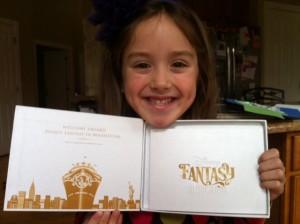 Disney Fantasy invite Kenzie