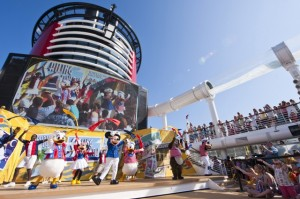 Disney Fantasy Sail Away party