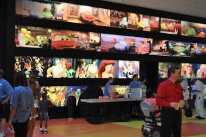 Lobby Art of Animation