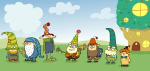 THE 7D - BASHFUL, SLEEPY, DOPEY, HAPPY, GRUMPY, DOC, SNEEZY